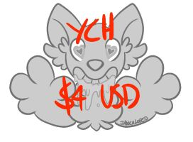 [YCH] HEART EYES [$4/400 pts] [OPEN] by glitchgoat