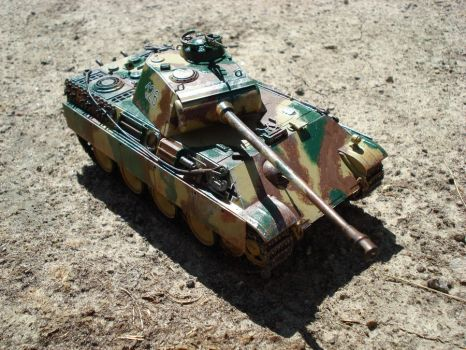 Panzerkampfwagen V Panther G by IXI-Eric-The-Red-IXI