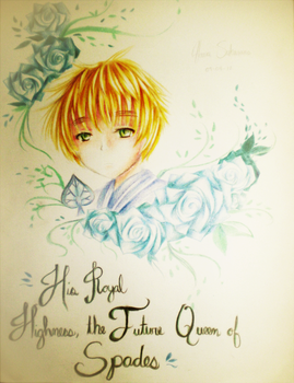 APH: His Face on Parchment by hana-tox