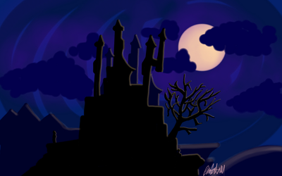 Day 18 - Castle of the Night by bookwormy606