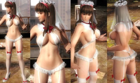 Hitomi Swim Bride by funnybunny666