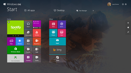 [NEW Concept] Windows ONE - Modern UI by danielskrzypon