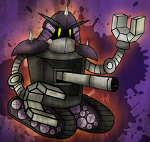 Ink Bot Boss by gagaman92