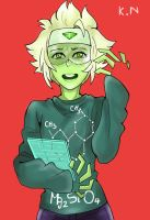 Peridot colored by kittycat291096