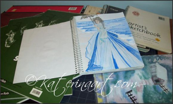 Old Sketchbooks by Katerina-Art