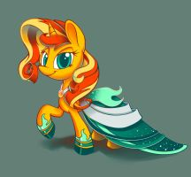 Sunset's Gala Gown by Hydro-King