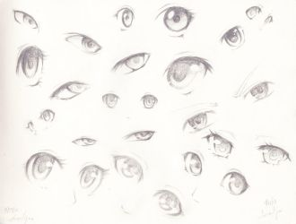 Eyes Practice by Leesa-Mia