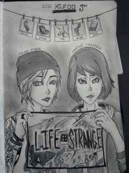 Life is Strange - Max and Chloe (2016) by FireWeaver360