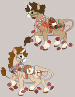 Unicorn Sibling Adopts (CLOSED) by pawawool