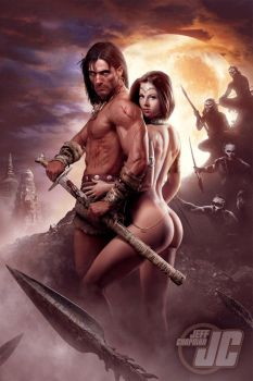 Conan the Barbarian by Jeffach