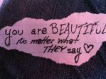 you are beautiful by Paper-Angel-LT3