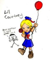 Lil' Courtney by Chrisboe4ever
