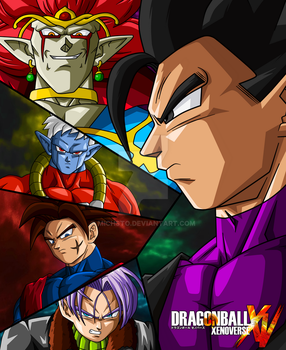 DB Xenoverse poster by Michsto