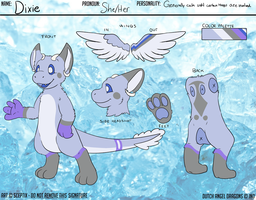 Dixie - Dutch Angel Dragon Ref by Luminescent-Feather