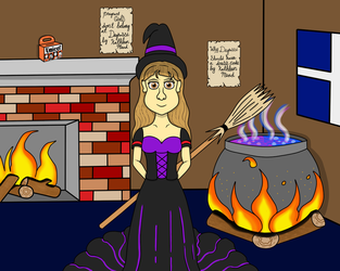 Halloween On Degrassi: Kathleen, the Wicked Witch by DarkwingFan