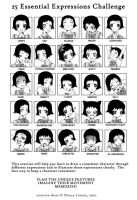 25 Essential Expressions by iamtabbychan