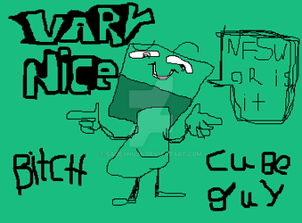 Cube Guy by saueynuts