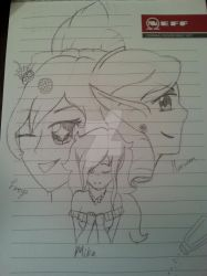 The Three Sides of Mika by Misspokemonfan150