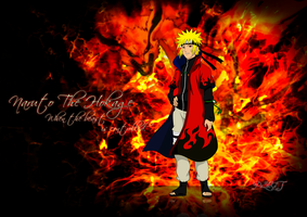 Naruto the hokage by PaLaKaT