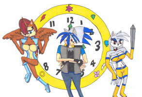 Chaos Time Watch poster by Power1x