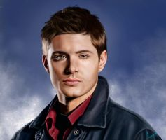Dean Winchester, Supernatural by Koralina28