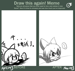 My Before And After Meme by hvvrD