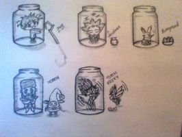Rise of the guardians bottle collection part 2 by noriakifan