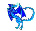 blue dragon adopt {open} by deeznuts300