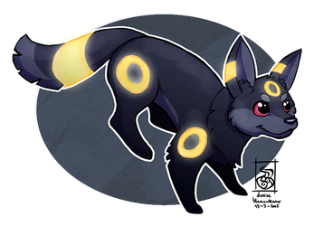 Umbreon by AlynC