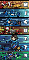 Mighty No9 tribute by bulletproofturtleman