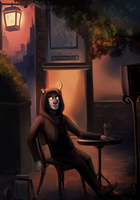 City Parrot, Grocery Night by Gpotious