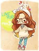ID 8 / LINE PLAY by meru90