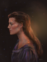 DS9- Jadzia- different style by redsailor