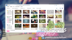 P A C K wallpapers AGOSTO by yoaeditions by yoaeditions