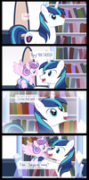Comic Block: Flurry's First Words by dm29