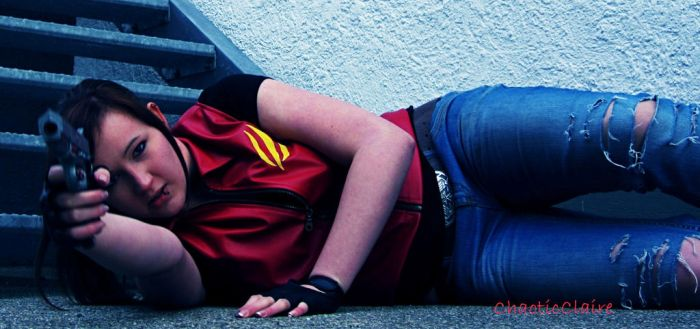 Claire Redfield Code Veronica Cosplay - Too Easy! by ChaoticClaire