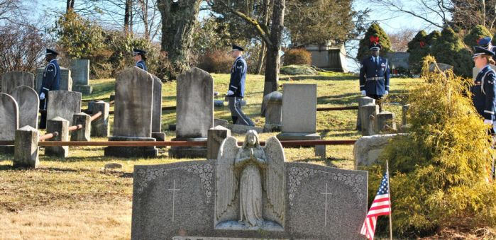 Air Force Funeral at Sleepy Hollow Cemetery 05 by BellonaRose