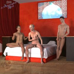 Christian, Gregory, Chace in the Red Alcove by vwrangler