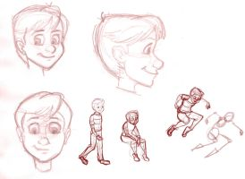 Tommy sketches 2 by TheCosbinator