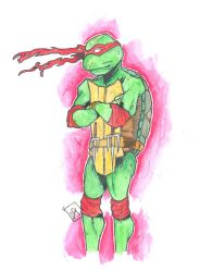 TMNT Raph New style by AdamGaterellArts