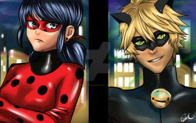Ladybug and Chat Noir: You're Late Kitty! by ambarnarutofrek1