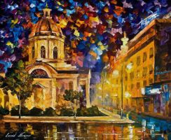 Asuncion Paraguay by Leonid Afremov by Leonidafremov