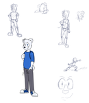 Steve Styles Finalized Character Design - BADVIBE by DrJoshfox