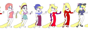 Minerva's Outfits by tpirman1982