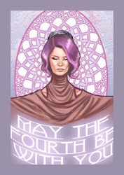 May The Fourth -Vice Admiral Holdo by jadenwithwings
