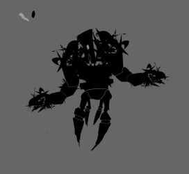 Robot Concept WIP 3 by Shydrow