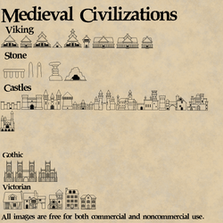 Medieval Civilizations by EdgarRickets