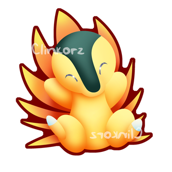 Cyndaquil by Clinkorz