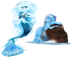 Element Sisters Water by MamaBubbles