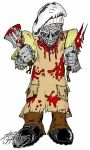 ZMB Zombie chef by ZMBGraphics